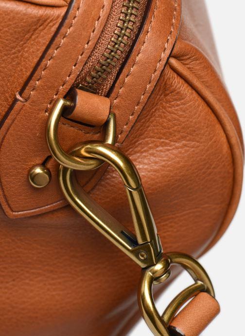 Bagages Polo Ralph Lauren SM DUFFLE SMALL Marron vue gauche