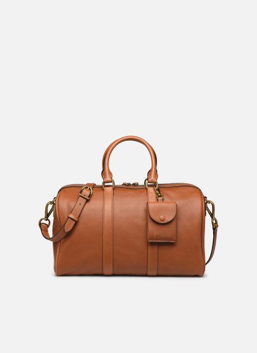 Bagages Polo Ralph Lauren SM DUFFLE SMALL Marron vue détail/paire