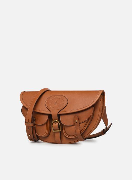 Handtassen Polo Ralph Lauren CONVERTIBLE BELT BAG CROSSBODY SMALL Bruin model