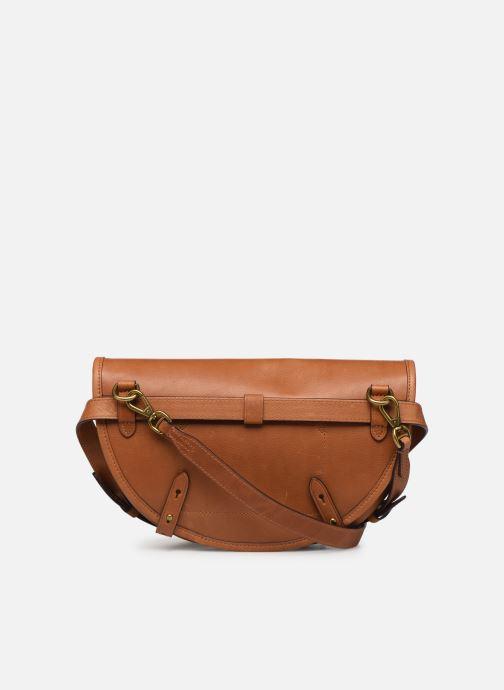 Handbags Polo Ralph Lauren CONVERTIBLE BELT BAG CROSSBODY SMALL Brown front view