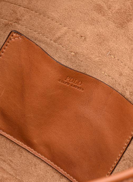 Handbags Polo Ralph Lauren CONVERTIBLE BELT BAG CROSSBODY SMALL Brown back view