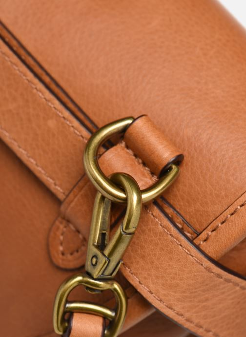Handbags Polo Ralph Lauren CONVERTIBLE BELT BAG CROSSBODY SMALL Brown view from the left