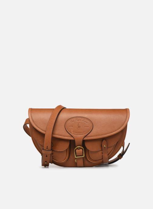 Handtassen Polo Ralph Lauren CONVERTIBLE BELT BAG CROSSBODY SMALL Bruin detail