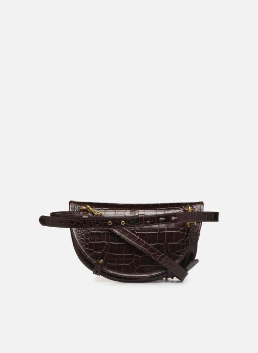 Sacs à main Polo Ralph Lauren CONVERTIBLE BELT BAG CROSSBODY SMALL Marron vue face