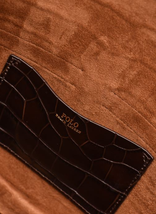 Sacs à main Polo Ralph Lauren CONVERTIBLE BELT BAG CROSSBODY SMALL Marron vue derrière