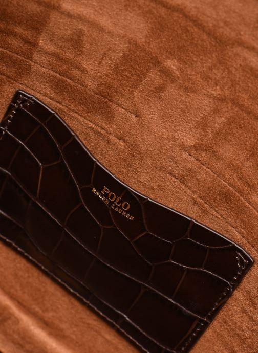 Bolsos de mano Polo Ralph Lauren CONVERTIBLE BELT BAG CROSSBODY SMALL Marrón vistra trasera