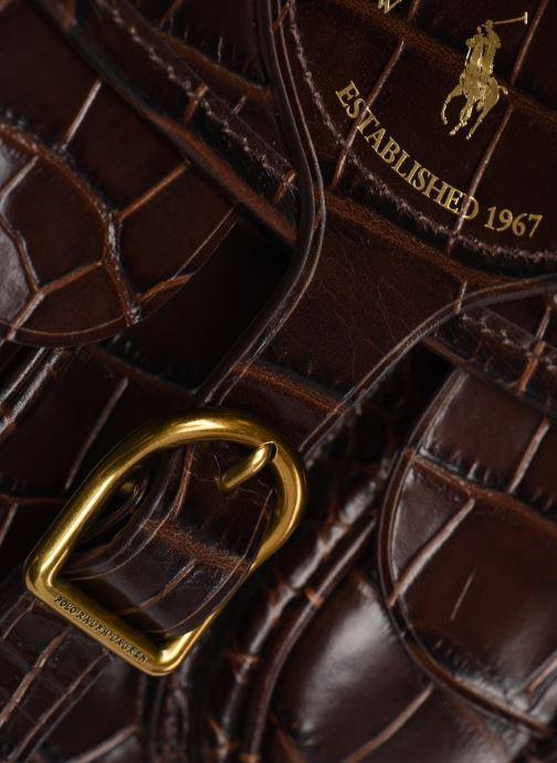 Sacs à main Polo Ralph Lauren CONVERTIBLE BELT BAG CROSSBODY SMALL Marron vue gauche