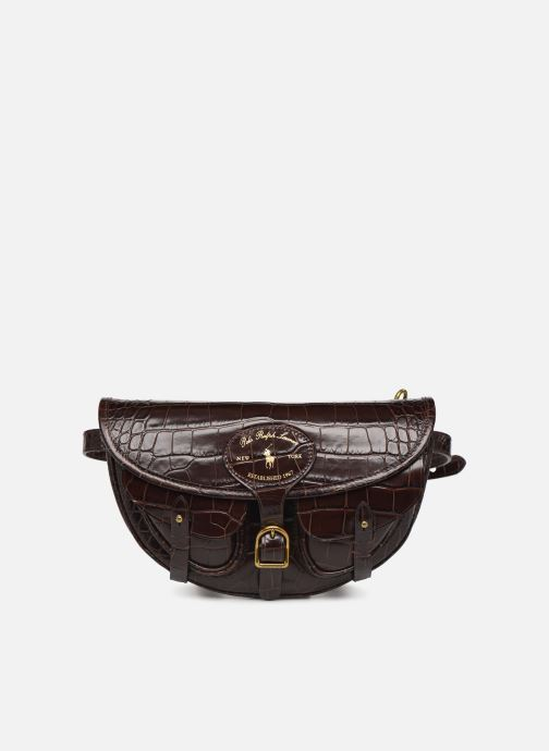 Handbags Polo Ralph Lauren CONVERTIBLE BELT BAG CROSSBODY SMALL Brown detailed view/ Pair view