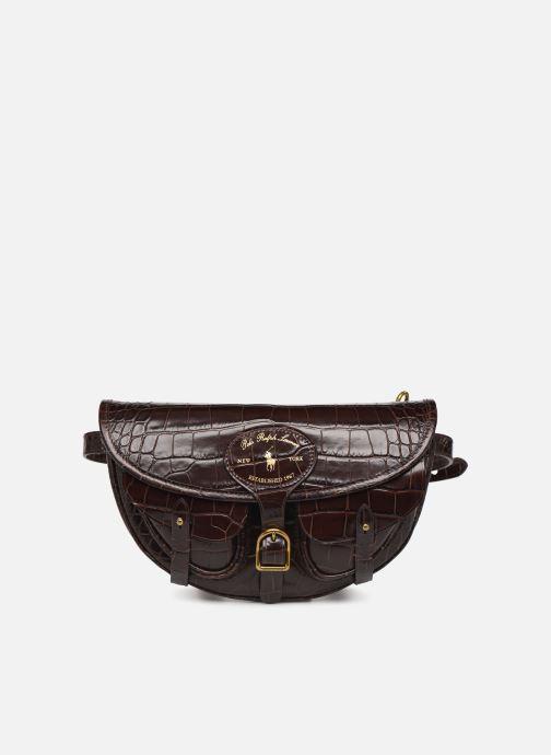 Bolsos de mano Polo Ralph Lauren CONVERTIBLE BELT BAG CROSSBODY SMALL Marrón vista de detalle / par