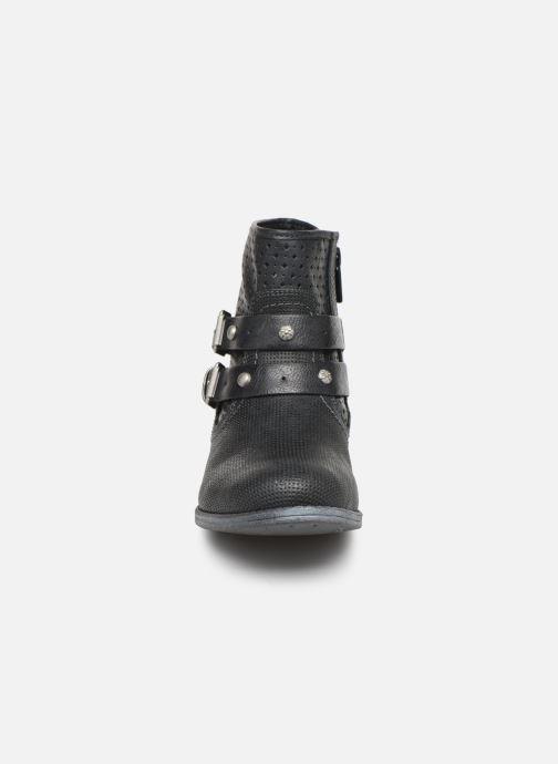 Bottines et boots Mustang shoes 1157556 Noir vue portées chaussures