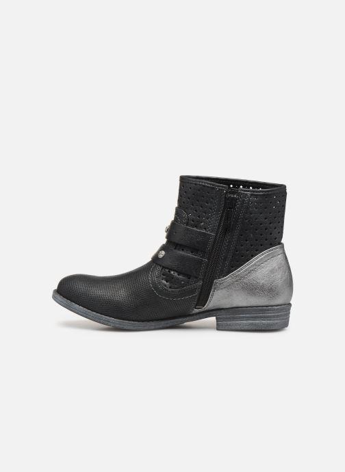 Bottines et boots Mustang shoes 1157556 Noir vue face