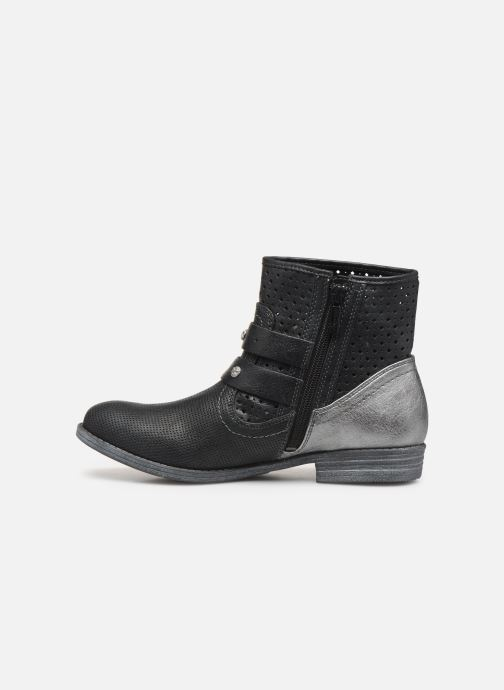 Bottines et boots Mustang shoes 1157556 Noir vue face