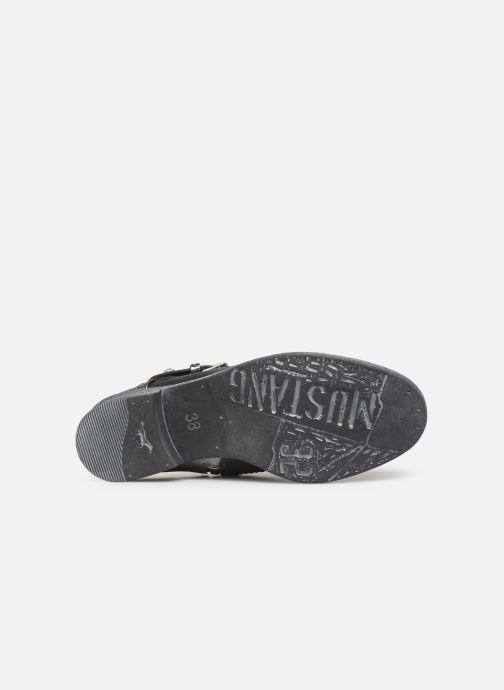 Bottines et boots Mustang shoes 1157556 Noir vue haut