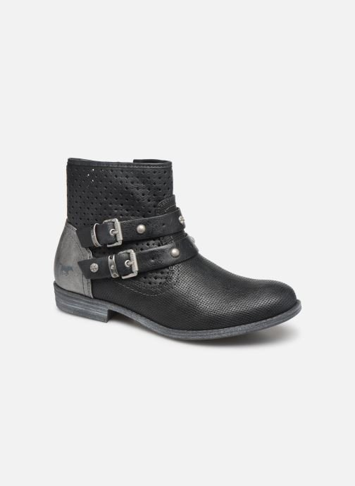 Ankle boots Mustang shoes 1157556 Black detailed view/ Pair view