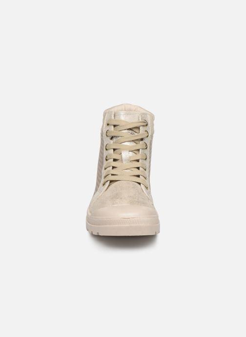 Bottines et boots Mustang shoes 1160515 Blanc vue portées chaussures