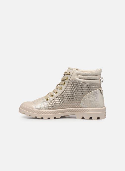 Bottines et boots Mustang shoes 1160515 Blanc vue face