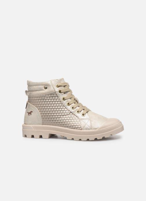 Bottines et boots Mustang shoes 1160515 Blanc vue derrière