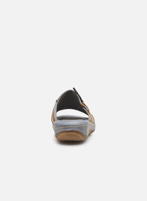 Zoccoli Mustang shoes 1240701 Azzurro immagine destra