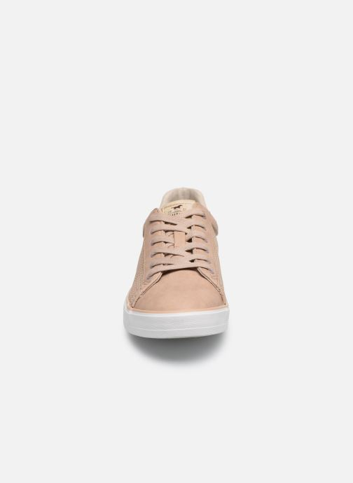 Baskets Mustang shoes 1267306 Rose vue portées chaussures