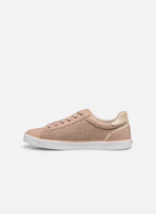 Baskets Mustang shoes 1267306 Rose vue face