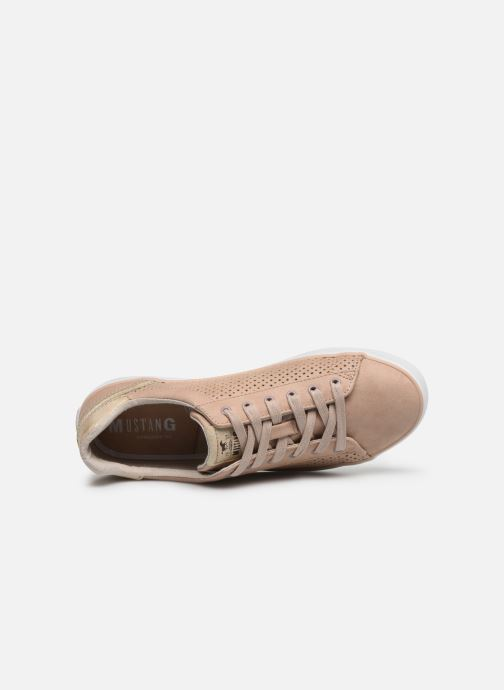 Baskets Mustang shoes 1267306 Rose vue gauche