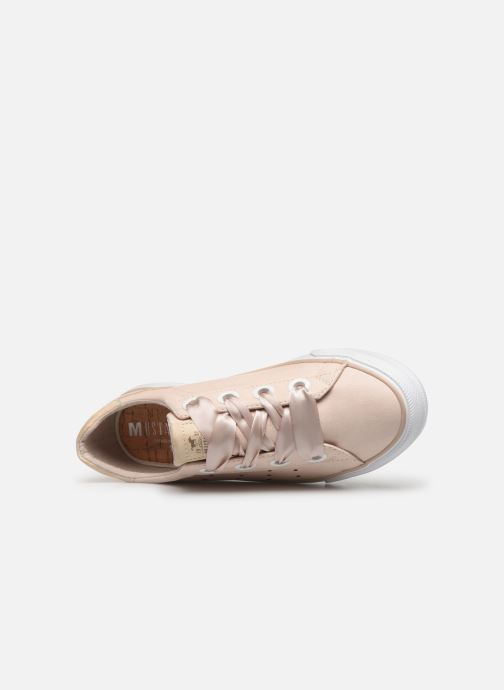 Baskets Mustang shoes 1272302 Beige vue gauche