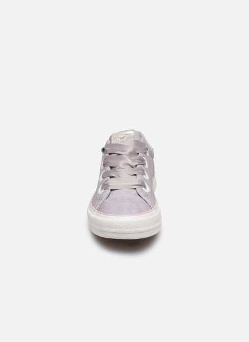 Baskets Mustang shoes 1272302 Rose vue portées chaussures
