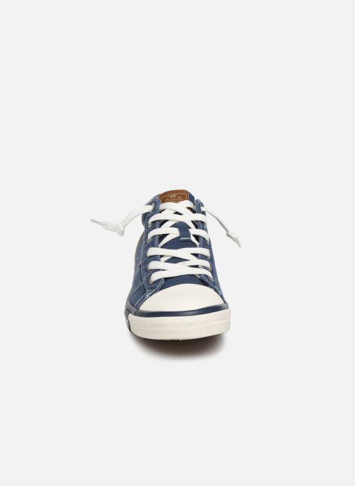 Baskets Mustang shoes 4072505 Bleu vue portées chaussures