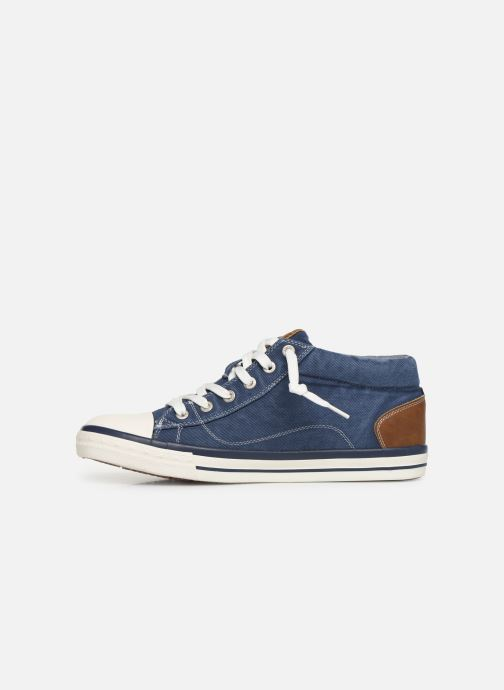 Baskets Mustang shoes 4072505 Bleu vue face