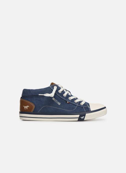 Baskets Mustang shoes 4072505 Bleu vue derrière