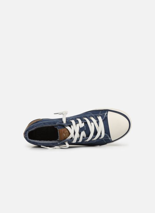 Baskets Mustang shoes 4072505 Bleu vue gauche