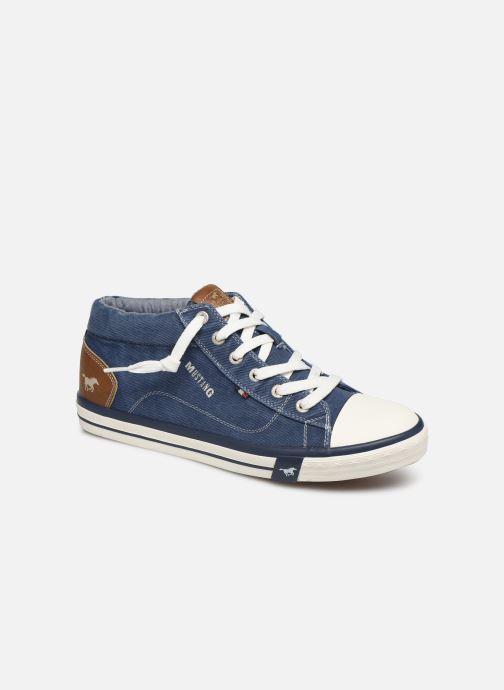 Baskets Mustang shoes 4072505 Bleu vue détail/paire