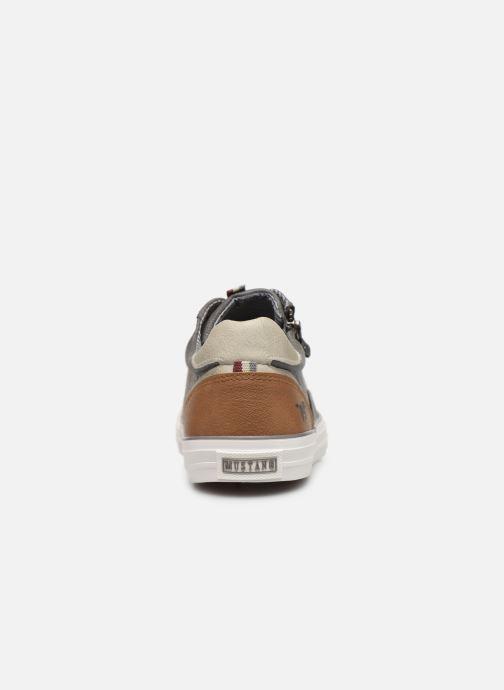 Baskets Mustang shoes 4127302 Gris vue droite