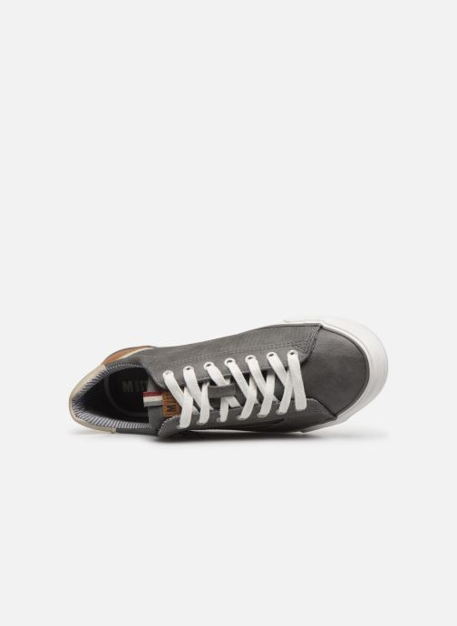 Trainers Mustang shoes 4127302 Grey view from the left