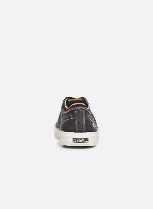 Baskets Mustang shoes 4127303 Noir vue droite