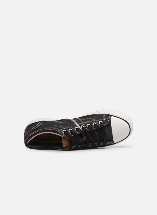Baskets Mustang shoes 4127303 Noir vue gauche
