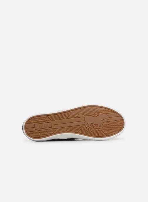 Baskets Mustang shoes 4127303 Noir vue haut