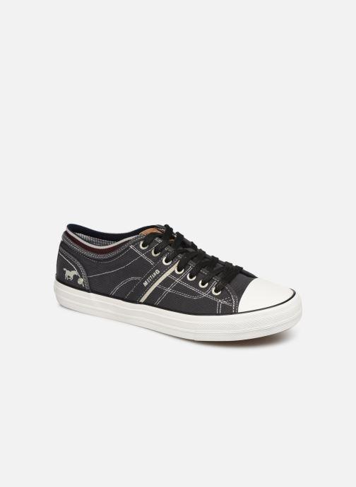 Baskets Mustang shoes 4127303 Noir vue détail/paire