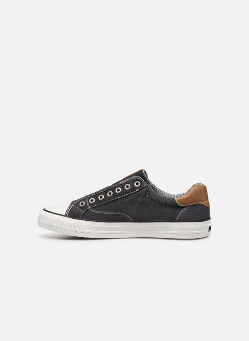 Sneakers Mustang shoes 4127401 Zwart voorkant