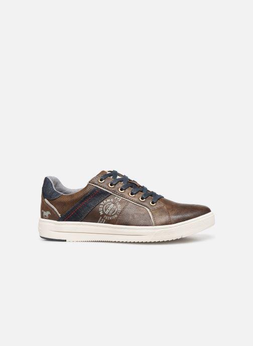 Sneakers Mustang shoes 4133304 Bruin achterkant