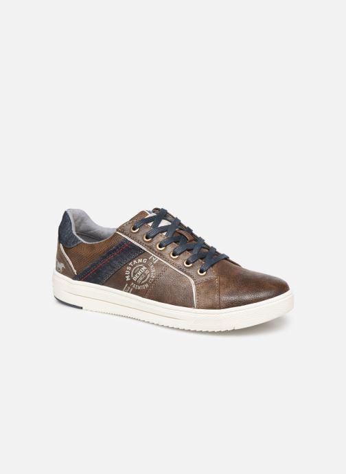 Sneakers Mustang shoes 4133304 Bruin detail
