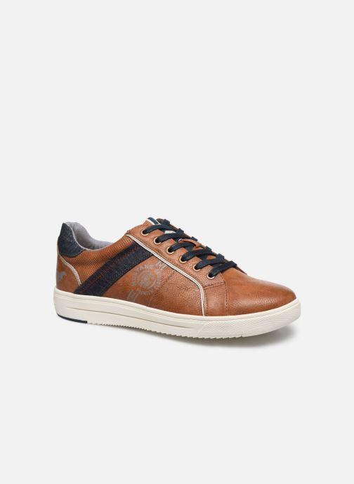 Baskets Mustang shoes 4133304 Marron vue détail/paire
