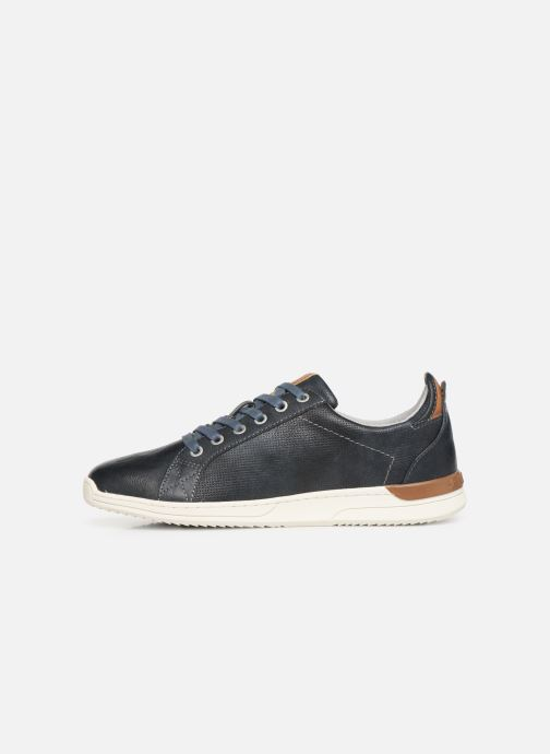 Trainers Mustang shoes 4136303 Blue front view