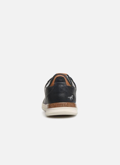 Baskets Mustang shoes 4136303 Bleu vue droite