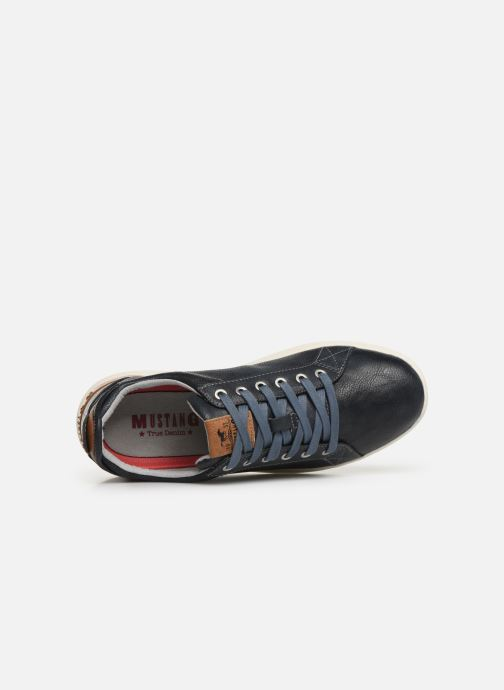 Sneaker Mustang shoes 4136303 blau ansicht von links