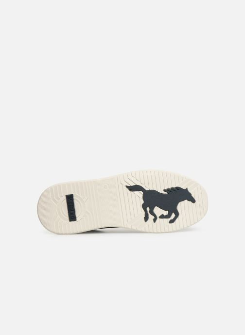Sneaker Mustang shoes 4136303 blau ansicht von oben