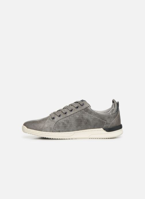 Trainers Mustang shoes 4136304 Grey front view