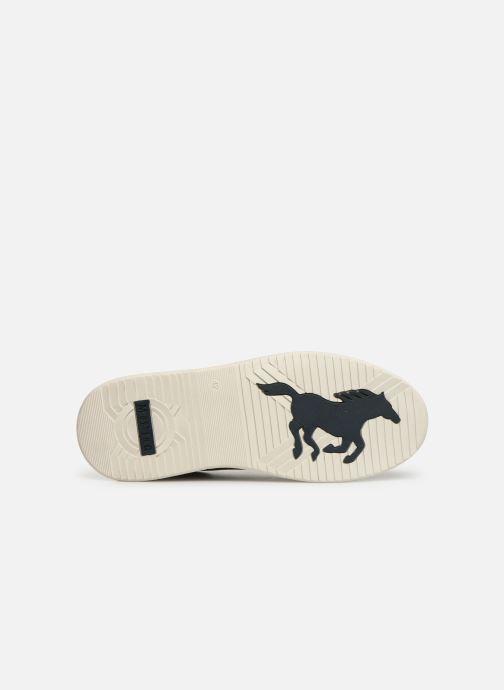 Baskets Mustang shoes 4136304 Gris vue haut