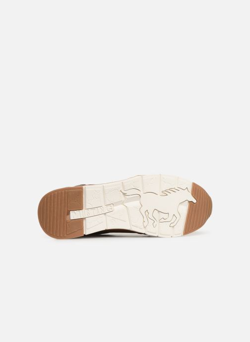 Trainers Mustang shoes 4137303 Brown view from above