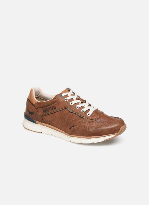 Trainers Mustang shoes 4137303 Brown detailed view/ Pair view
